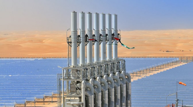 Irena applauds hails UAE concentrated solar power launch