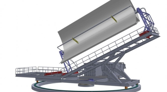 CTAER sets up an innovative concentrated solar power installation for parabolic trough testing
