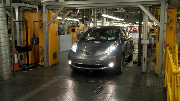 Nissan Leaf tops January sales for electric vehicles