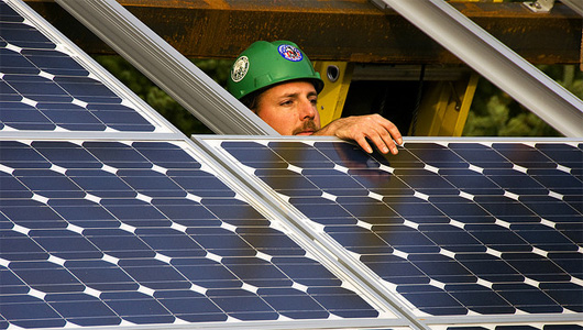 America now has more solar energy workers than coal miners