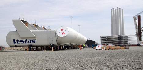 Vestas ships first V112-3.0 MW offshore wind turbines