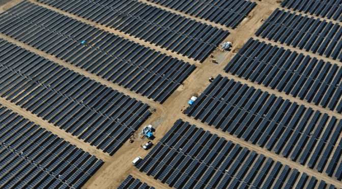 MidAmerican Solar and SunPower start major construction on world's largest solar power