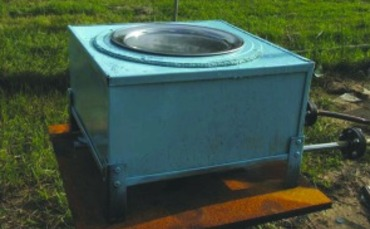 Solar cooker could improve lives in developing world