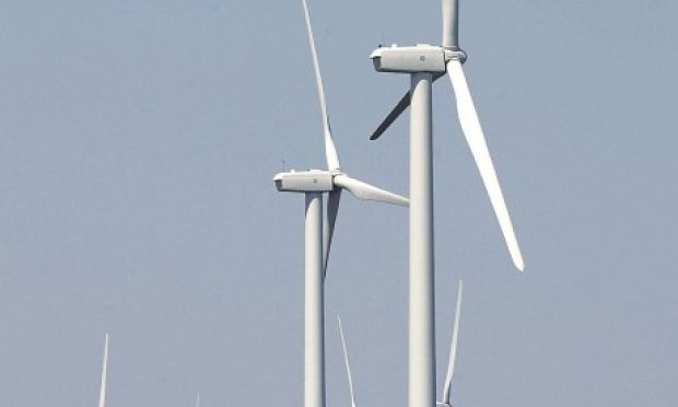North Dakota gov. marks completion of wind energy farm