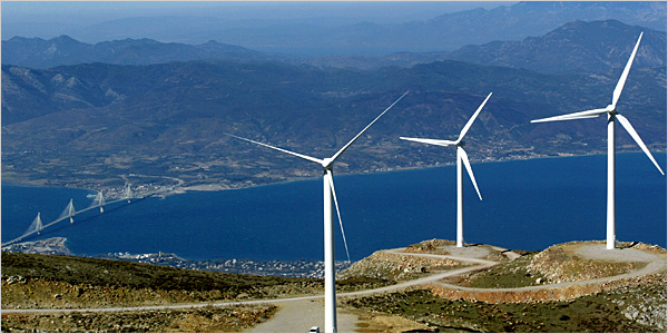 Enel begins 154 MW wind farm in Greece