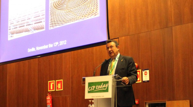 Protermosolar: Luis Crespo inaugurates the congress Concentrated Solar Power Madrid 2019