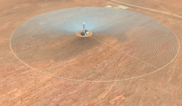 Concentrating Solar Power (CSP) SolarReserve Awarded Solar Industry Award For Excellence In Technology