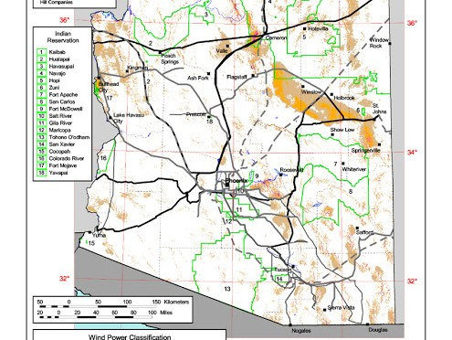 Wind energy project approved for Arizona