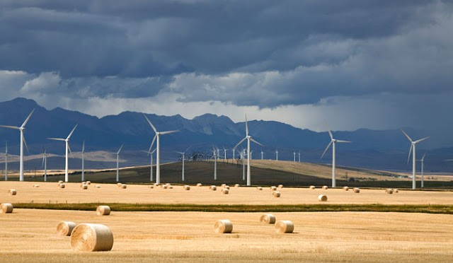 Largest investment in wind energy in Western Canada