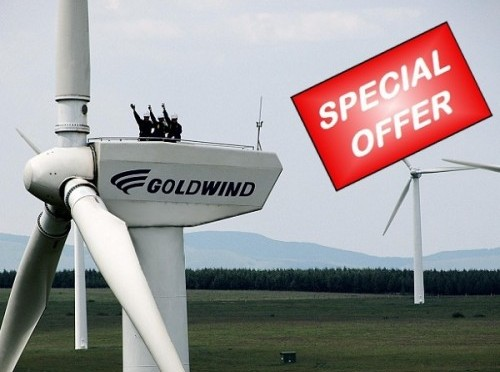 Goldwind Americas Signs 60MW Wind Turbine Supply Orders With One Energy