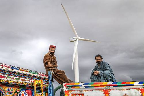 Work on 2,000 MW wind power projects underway in Pakistan
