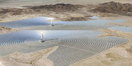 Falling particles, the future for tower concentrated solar power (CSP) plants from Sandia Labs