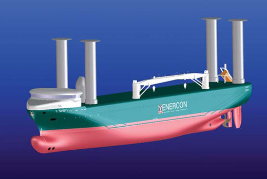 Enercon: Rotor sail ship E-Ship 1 saves up to 25% fuel