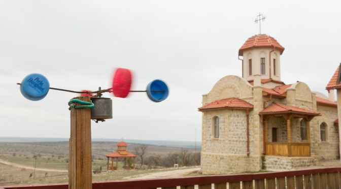 Romanian monks turn to wind energy