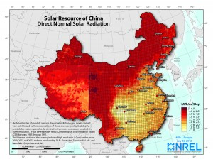 China's first Concentrated Solar Power (CSP) plant