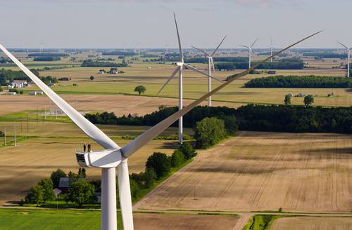 Michigan has the potential for more than 59,000 megawatts of wind energy generation