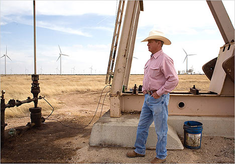 Texas leads U.S. in wind power
