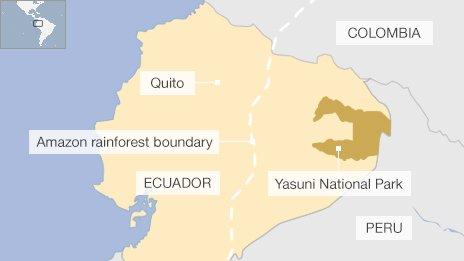 Ecuador approves Yasuni park oil drilling in the Amazon