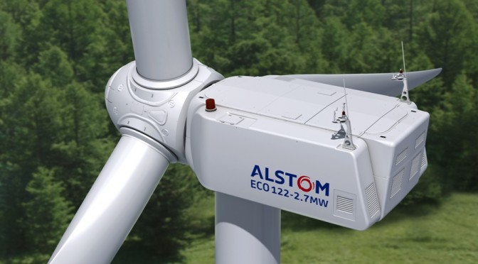 Alstom to supply ECO 122 wind turbines for wind energy project in the South of Brazil