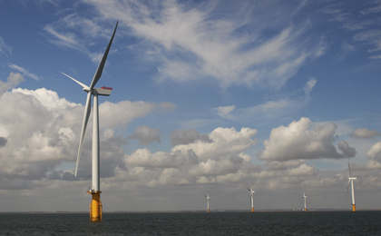 West of Duddon Sands offshore wind farm installs first turbine