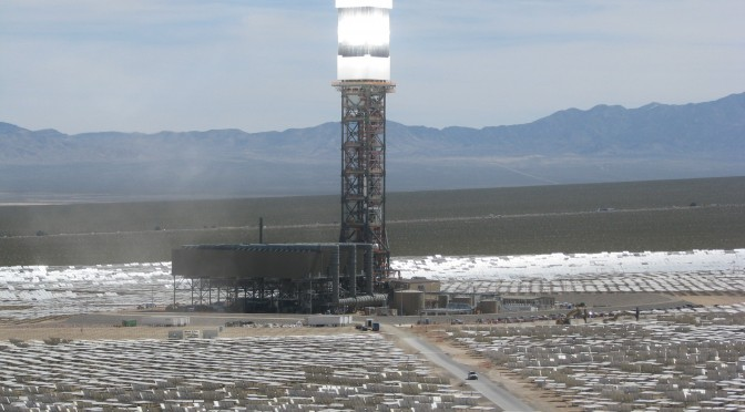 Ivanpah Concentrating Solar Power (CSP) Reaches