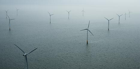 Construction of new offshore wind farm Eneco Luchterduinen starts