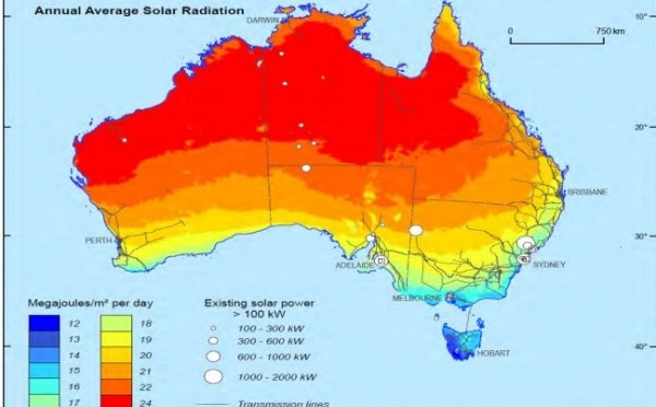 SolarReserve Concentrated Solar Power (CSP) Expands International into Australia