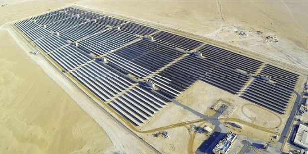 Dubai mega solar power project unveiled
