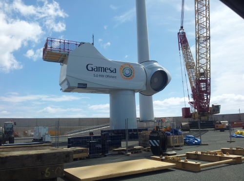 Gamesa back in the black