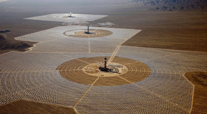 World's largest concentrated solar power (CSP) plant delivers electricity to California