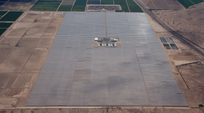 Sacramento Utility to Launch Concentrated Solar Power-Natural Gas Project