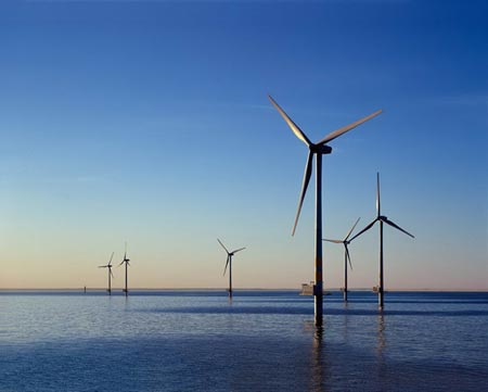 Taiwan inks deals to promote offshore wind energy