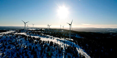According to the BTM World Market Update 2012, severe icing can potentially reduce wind turbines