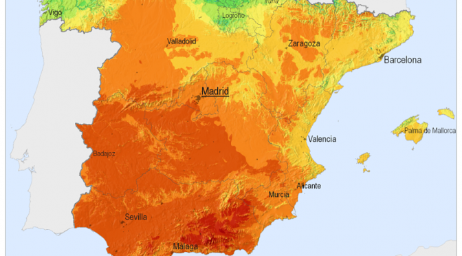 Spain meets 1.8% of electricity demand with concentrated solar power (CSP) in 2013