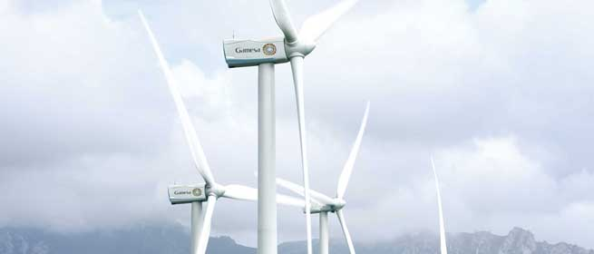 Gamesa to supply 128 MW wind turbines to Gestamp Wind in Brazil