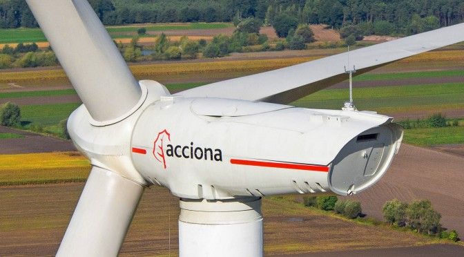Spain's Acciona sent to first loss by state energy reforms
