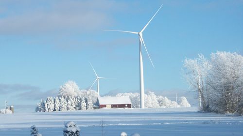 Active Power Control of Wind Turbines Can Improve Power Grid Reliability