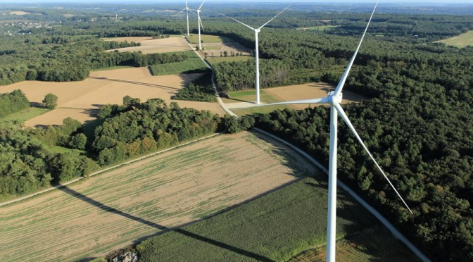 Acquisition of a 14 MW wind power project in France