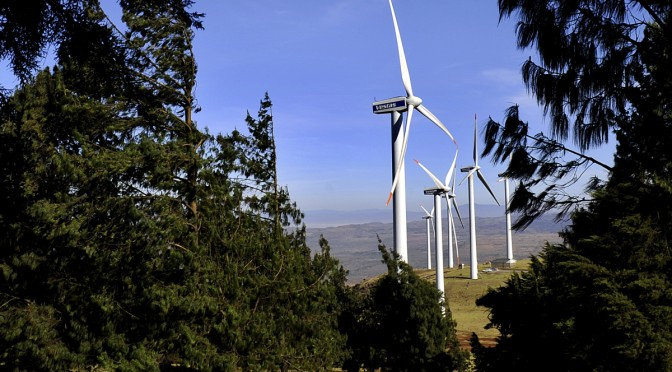 Kenya abandons thermal power plants for wind power