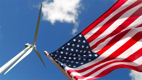 Stellar Wind Power Production in the USA