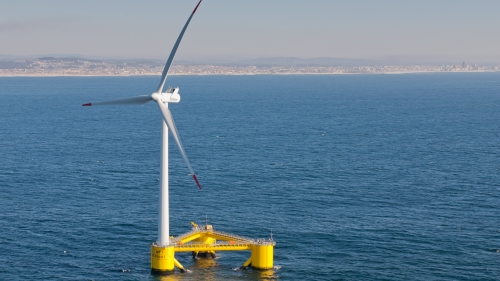 Portuguese floating wind farm