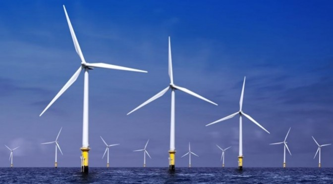 Offshore wind turbines can tame hurricanes, study finds