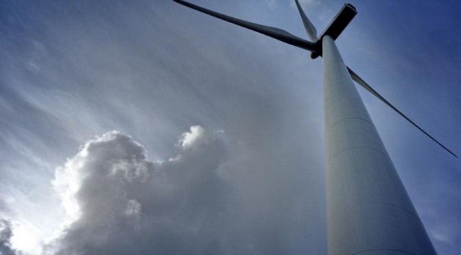 The wind power during Filomena's passage through Spain has helped to contain the price of electricity