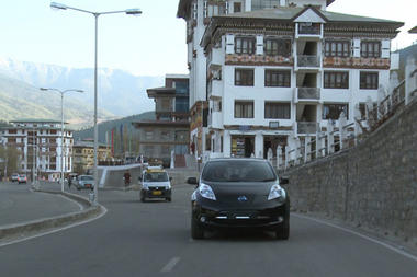 Bhutan turns to Nissan electric vehicles as part of zero-emissions goal