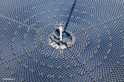 Molten salt storage in concentrated solar power plants