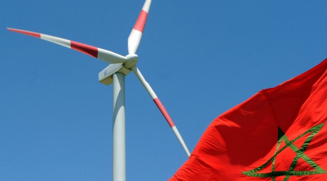 Over 500 MW of wind turbines capacity in Morocco