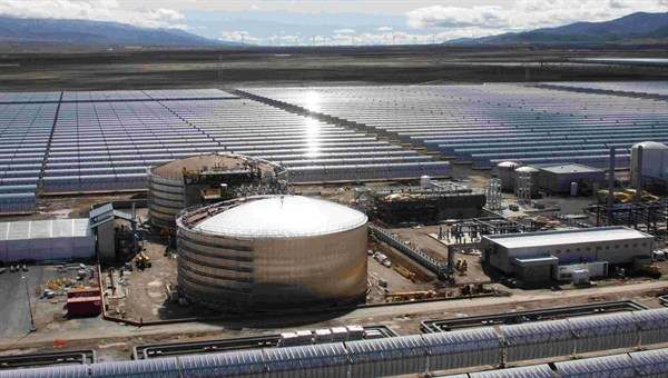 Concentrated Solar Power (CSP) came to supply 5% of electricity in Spain