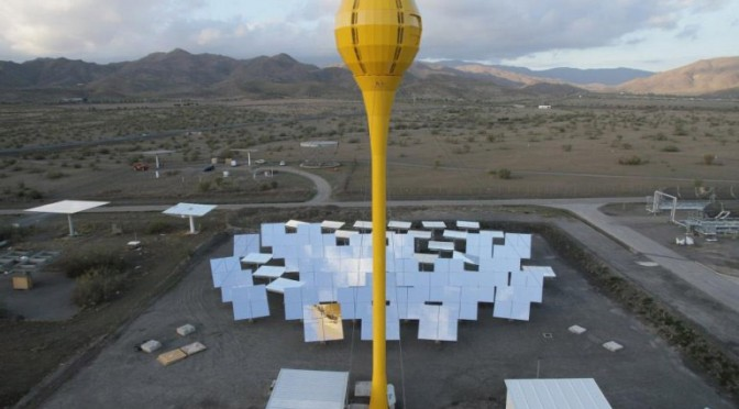 Arizona State University Research Partnership With Cutting Edge 24/7 concentrating solar power (CSP) Technology