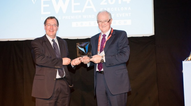 Top wind industry award goes to Mainstream chief Eddie O'Connor