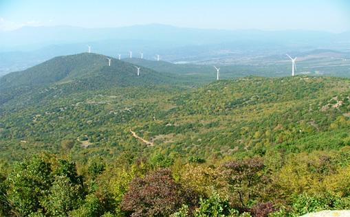 Macedonia's first wind farm